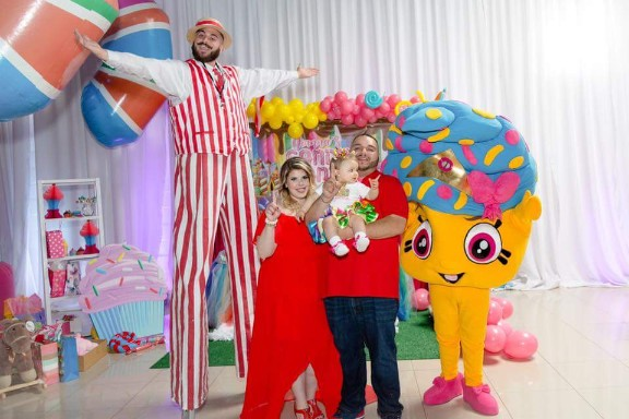 Candy Land Private Party Family Fun Stilt Walker Children Parties Candy costumeNew York City
