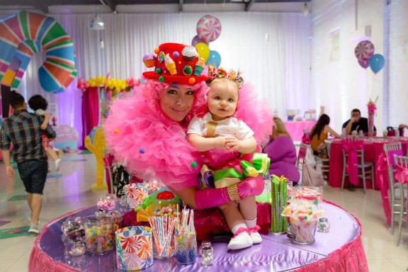 Candy Land Strolling table Model Private Children Party Event New York City