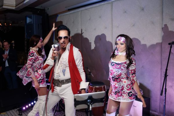 Elvis Presley Themed Party 50s Party Dancers Russian Restaurant Event New York