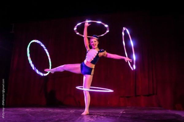 Hula hoop Performer Acrobat sexy Special Performer Circus Performer New York