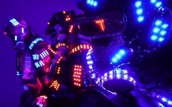 Lazer Show LED Robot Performers Special Act New York City