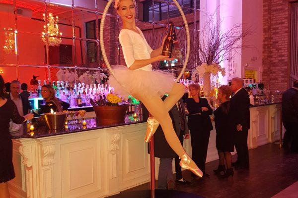 Model Aerial Acrobat Hula Hoop Ballerina Performer Aerialist New York City