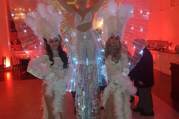 Model Greeters and Sexy LED Stilt Walkers New York City