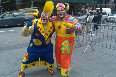 New York City Clown Special Performer Jugglers