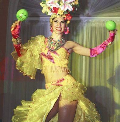 New York City Samba Latin Dance Performer