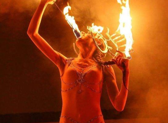 New York City Special Performer Fire Performer Dancer