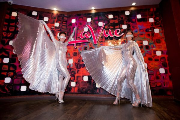 Silver Wing Suit Go Go Dancers for Events and Night Clubs New York City