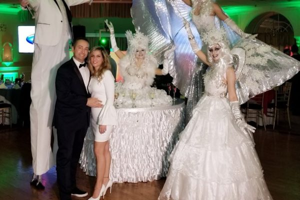 Winter wonderland theme party White Party Special Private Event Performers New York